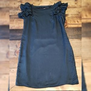 Milly of New York Ruffle Sleeve Dress Size 12